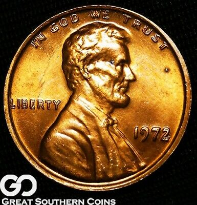1972/72 Lincoln Cent Memorial Penny, Doubled Die OBV Free S/H