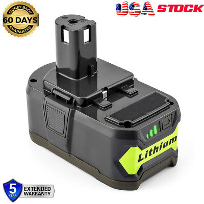 18V For Ryobi One+ Plus P108 Lithium Battery P104 P105 P102 P103 P107 4.0AH NEW