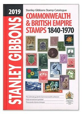 Stanley Gibbons Commonwealth & British Empire Stamp Catalogue 2019 Edition
