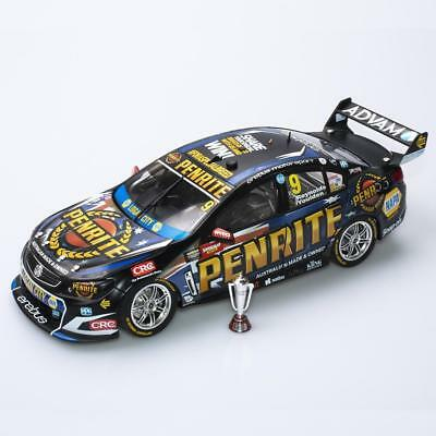 2017 Bathurst Winner David Reynols Luke Youlden Erebus Holden 1:18 Model Car