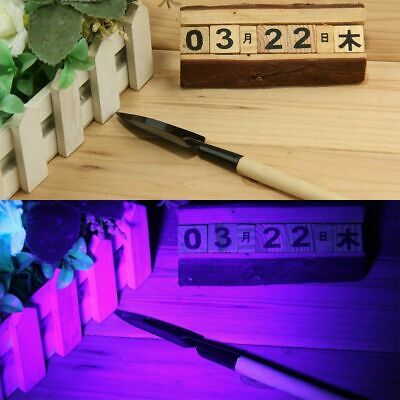 UV Ultra Violet LED Flashlight Blacklight Light 395 nM Inspection Lamp Torch Lot