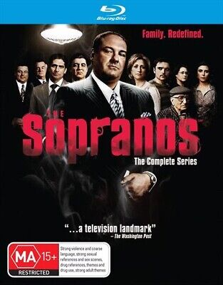 Sopranos - Complete Collection, The, Blu-ray