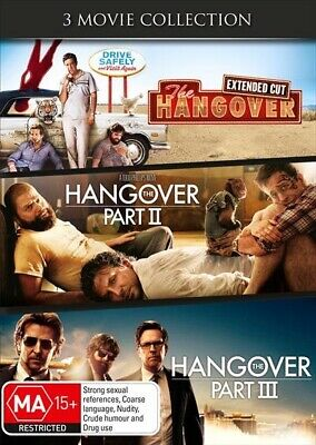 Hangover Trilogy, The, DVD