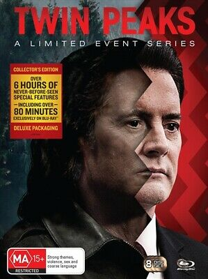 Twin Peaks - A Limited Event Series   Special Packaging, Blu-ray