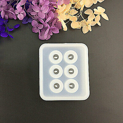 DIY Clear Silicone Mold Making Jewelry Pendant Resin Casting Mould Craft Tools