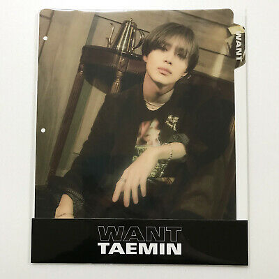 SM Town SUM Store SHINee Taemin 2nd Mini Album [WANT] Official Binder Index