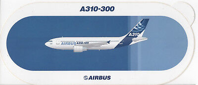AIRBUS A310-300 in NEW HOUSE COLOURS ~ Sticker / Decal