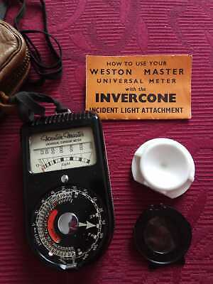 Weston Master S74 / 715 Universal Exposure Meter with leather case