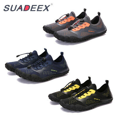 Mens Water Sport Shoes Quick Dry Aqua Barefoot Wide Outdoor Beach Surf Shoes