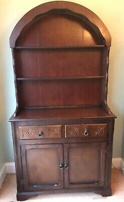 Welsh Dresser, mahogany colour