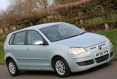 2008 VW Volkswagen Polo 1.4 TDI BlueMotion Diesel, 5 Doors, Annual Road Tax £0