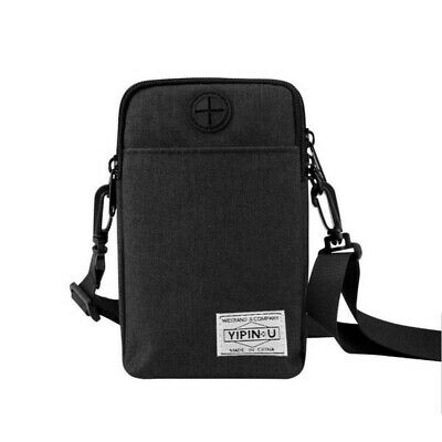 Unisex Messenger Cross Body Bag Shoulder Over Holiday Travel Bags Handbag 6A