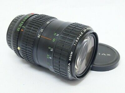 Pentax-A Zoom 28-80mm F3.5-4.5 PK-A Zoom Lens. Stock No U9804