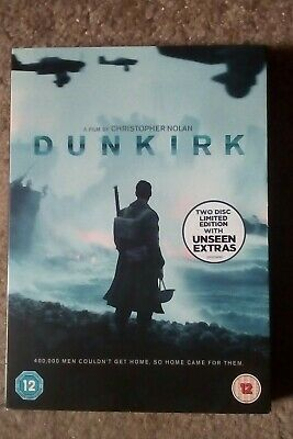 Dunkirk(2017)2 Disc Limited Edition,dvd,new/sealed.