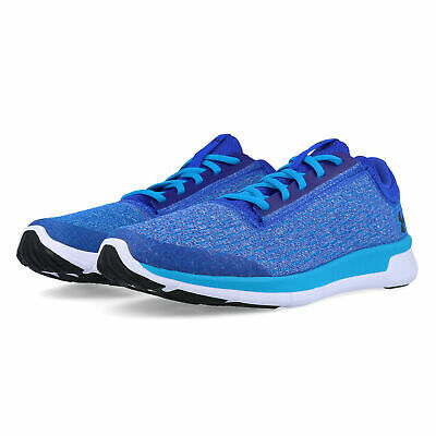 Under Armour Junior Lightning GS Running Shoes Trainers Sneakers Blue Sports