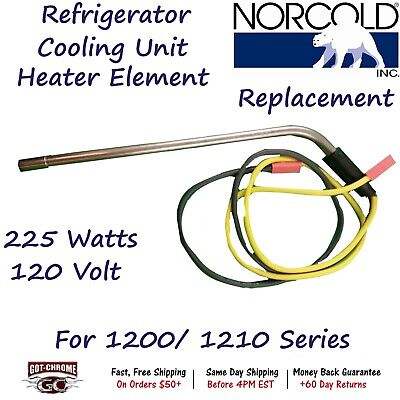 Norcold Cooling Unit 225 watt Heating element 45 degree  replaces 630807