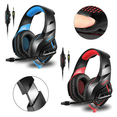 ONIKUMA K1 MIC Gaming Headset Camouflage Surround For Laptop PS4 Xbox One F6D8