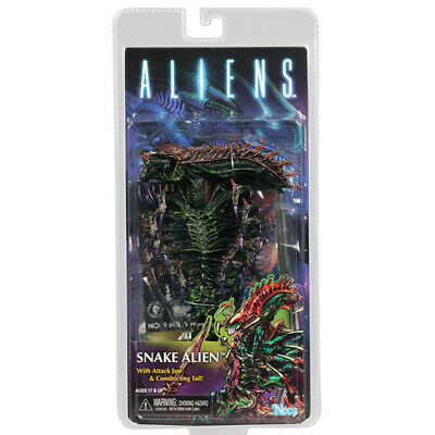 "NECA Snake Alien 7"" Action Figure Aliens Movie Series 13 w Attack Jaw Tail New"