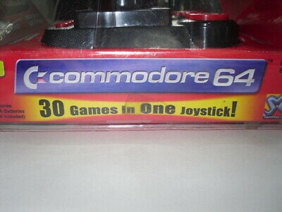 Commodore 64: Plug and Play mini games console with 30 games - Boxed, Mint, PAL