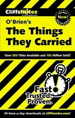 NEW CliffsNotes on O'Brien's The Things They Carried By COLELLA JILL Paperback