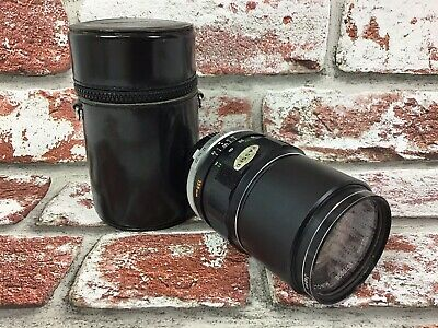 MINOLTA MC Tele Rokkor-PF 1:2.8 f=135mm - Manual Focus Camera Lens with case