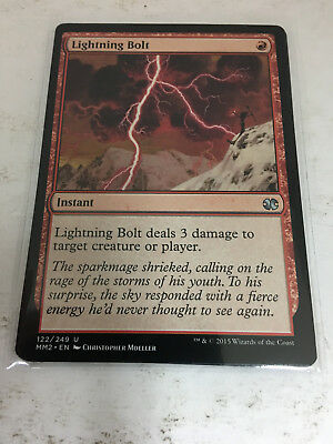 English Modern Masters 2015 MTG Magic 4x Burst Lightning NM-Mint