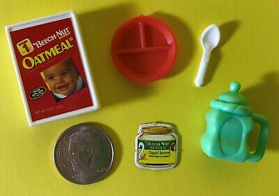1:6 Barbie Happy Family Baby Krissy Kelly Doll Food Dollhouse Accessories Lot