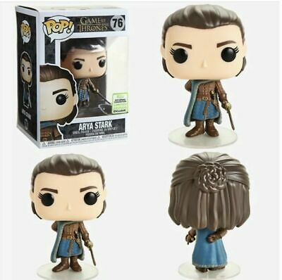 ARYA STARK - Funko Pop! Game of Thrones 2019 ECCC Shared Sticker Confirmed Order