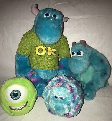 d31affa955d Disney Monsters University Spin Master My Scare Pal Sully Talking Plush Ty  Ballz