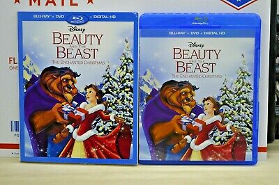 Beauty and the Beast The Enchanted Christmas (Blu-ray/DVD/No Digital)W/Slipcover