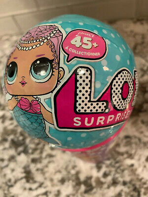 1P NEW MGA LOL Surprise Dolls Series 1 - Mermaid/Merbaby 1 BALL Retired Sealed