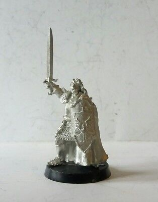 games workshop  Lord of the rings metal Prince imrahil