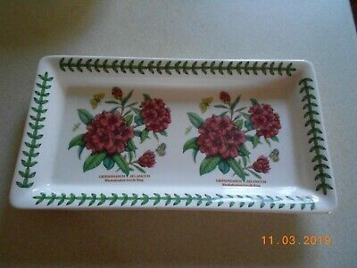 Portmeirion Botanic Garden Oblong Sandwich Tray - Small - Gwyllt King