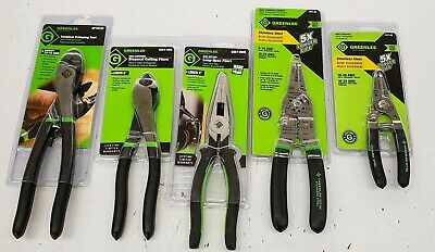 Greenlee Electrician's Hand Pliers Tools Mix 5-pc