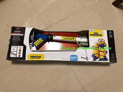 Despicable Me 3 Minion Folding Scooter BRAND NEW
