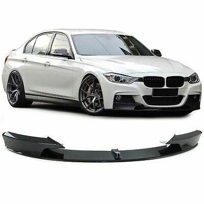 Front Spoiler Lippe Ansatz Performance Look Carbon Optik für BMW 3er F30 ab 11