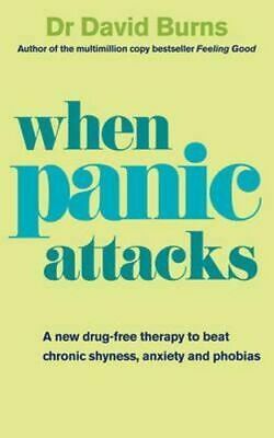NEW When Panic Attacks By David Burns Paperback Free Shipping