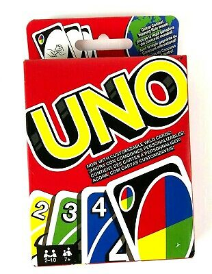 UNO Card Game - The Original Family Fun Card Game for 2-10 Players NEW