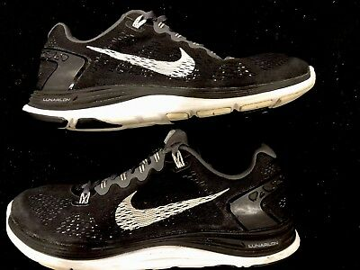 6babffd75bba 🔥euc Women s Nike Lunarglide 5 Running Shoes Sz 8.5 -599395 010 Nurse Gym