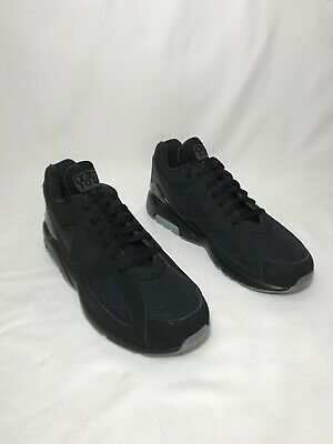 "the best attitude 80b11 150b4 Nike Air Max 180 ""Night Ops"" Men s Size 10 BLACK BLACK-VOLT"