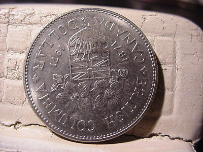 1971  Canadian  One Dollar Coin