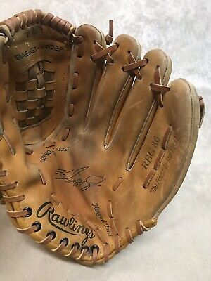 "5da83c3840 Rawlings Ken Griffey Jr Leather Outfield Glove Rbg36 12.5"" Right Handed  Thrower"