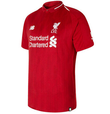 Liverpool FC Homes Shirt & SHORTS 2018/19 BNWT Adult Size Jersey and Shorts