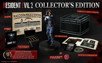 Resident Evil 2 Remake: Collector's Edition ps4  RARE