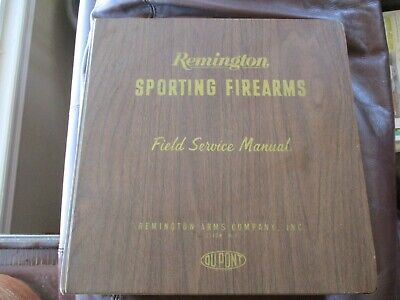 Remington Sporting Firearms Field Service Manuals - Pick Your Model Free Ship G4