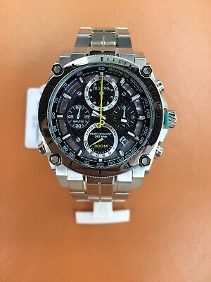 New Bulova 96B175 Precisionist Chronograph Men' s Watch. Free Priority Mail