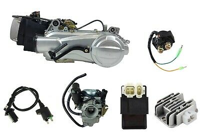 150cc Scooter Motor Complete Engine Set GY6 Single Cylinder 4-Stroke Short Case