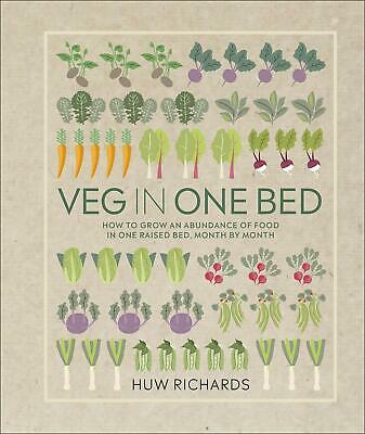 Veg in One Bed by Huw Richards (Hardback, 2019) 9780241376522