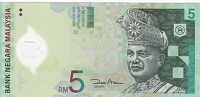 MALAYSIA 5 Ringgit Unc Cond (ND2004) BARGAIN!