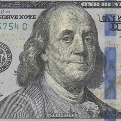 UNITED STATES $100 banknote Mint K11, 2009A Unc